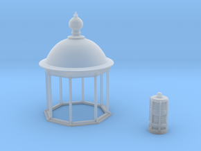 Opb10b - Small brittany lighthouse in Smoothest Fine Detail Plastic