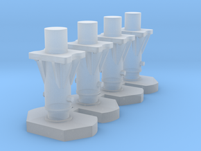 AR45 tampons even more details in Smooth Fine Detail Plastic: 1:87 - HO