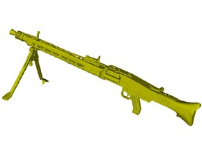 1/18 scale WWII Wehrmacht MG-42 machinegun x 1 in Smooth Fine Detail Plastic