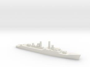 Leopard-class frigate, 1/1800 in White Natural Versatile Plastic