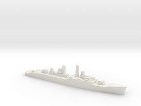 Leopard-class frigate, 1/2400 in White Natural Versatile Plastic