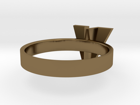 • b l o u •  Ring - Volume 1 - #3 in Polished Bronze: 7.5 / 55.5
