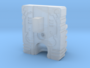 Titan Head Adapter for CW Ironhide/Red Alert in Smooth Fine Detail Plastic