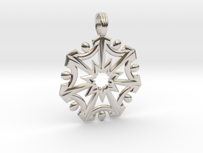 SEVEN SISTERS OF LIGHT in Rhodium Plated Brass