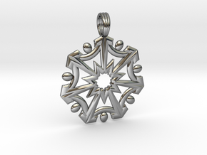SEVEN SISTERS OF LIGHT in Fine Detail Polished Silver