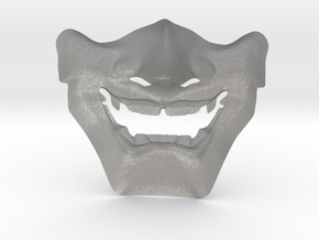 Samurai Mask High Quality in Aluminum