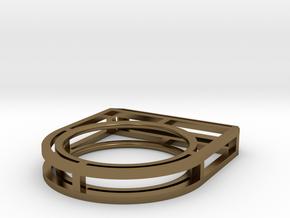 • b l o u •  Ring - Volume 4 - #2 in Polished Bronze: 7.5 / 55.5