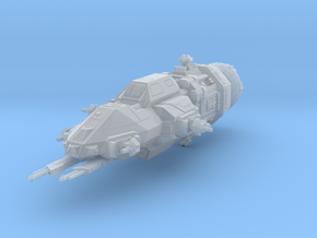 1:500 Rocinante - The Expanse [+ Guns] in Smooth Fine Detail Plastic
