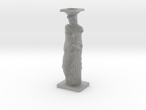 Caryatid in Metallic Plastic