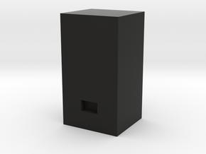 Soda Machine- HO Scale in Black Natural Versatile Plastic