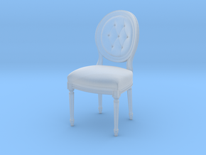1:22 Louis XVI Side Chair (Custom Scale) in Smooth Fine Detail Plastic