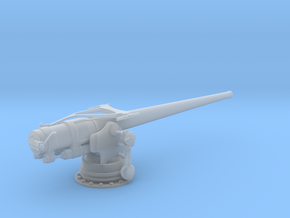 1/72 USN 5 inch 51 Cal. Deck Gun in Smooth Fine Detail Plastic