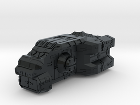 "Turanic Raider ""Thief"" Corvette in Black Hi-Def Acrylate"