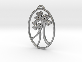 Clover Trio by Gabrielle in Natural Silver
