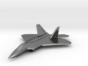 1/285 F-22 Raptor in Polished Silver