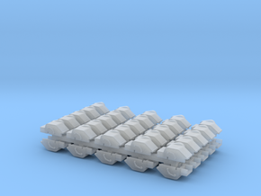 Winch Cover - Set of 50 - N scale in Frosted Extreme Detail