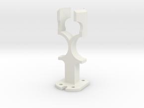 MS Alice Microphone TSB-165A Capsule Saddle in White Natural Versatile Plastic
