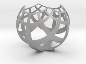 Grid (stereographic projection) in Raw Aluminum