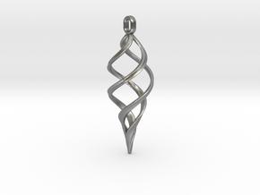 Kaladesh Pendant in Natural Silver