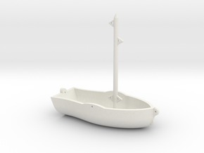 Ready For Sails  in White Natural Versatile Plastic: 1:18