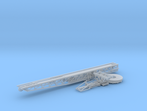 1/96 IJN Catapult - Trolleys - Trailers SET in Smooth Fine Detail Plastic