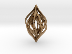 'Kaladesh' LARGE D10 Spindown Life Counter in Natural Brass