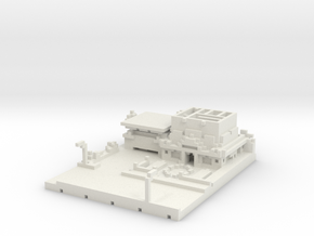 Blockingdead Police Office Part 1 in White Natural Versatile Plastic: Medium