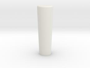 Round Shifter Standard in White Natural Versatile Plastic
