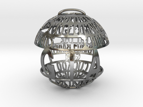 Gia Quotaball in Polished Silver
