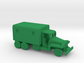 1/245 Scale CCKW Box Truck in Green Strong & Flexible Polished