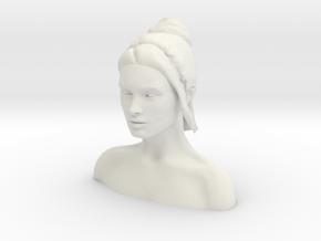 Megan Fox Headsculpt  in White Natural Versatile Plastic