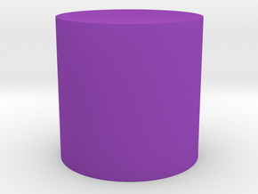 Cylinder Shape in Purple Strong & Flexible Polished