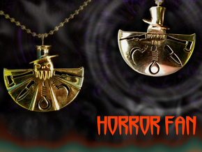 Horror Fan in Polished Silver