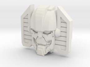 Machination Clone Face (Titans Return) in White Natural Versatile Plastic