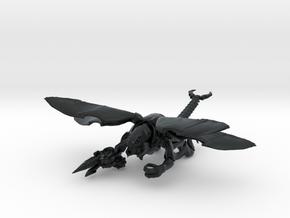 Skorponkrieger 10 Geflügelt in Black Hi-Def Acrylate