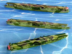 """IJN Aircraft Carrier """"Ryuho"""" 1/1250 in White Natural Versatile Plastic"""