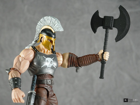 1:12 Battle Axe for Marvel Legends Ares Dark Reign in Black Strong & Flexible