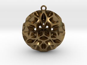 Orion Pendant Large in Polished Bronze