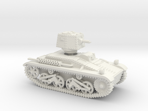 Vickers 'Dutchman' (28mm) in White Natural Versatile Plastic: 1:56