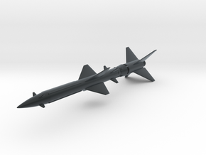 SA-2 Guideline Missile 1/72 in Black Hi-Def Acrylate
