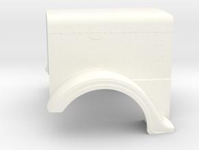 1/24 Optimus Prime hood part for italeri peterbilt in White Processed Versatile Plastic: 1:24