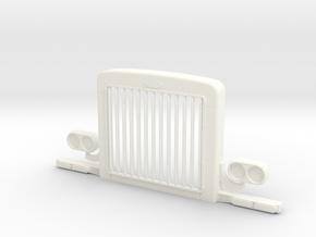 1/24 OPTIMUS PRIME GRILL PART  italeri peterbilt in White Processed Versatile Plastic: 1:24