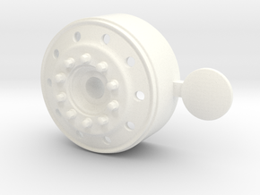1/24 us truck ALOCA front wheel for italeri truck in White Processed Versatile Plastic: 1:24