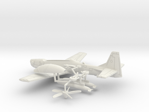 003H Super Tucano HO (1/87) in White Strong & Flexible