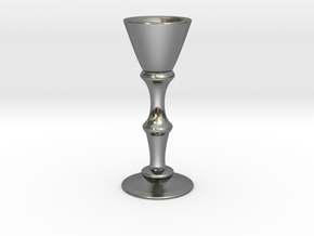 Candle Holder Model S in Polished Silver