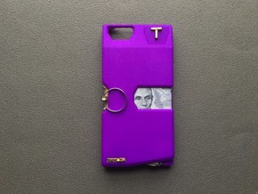 Iphone 6/7 PLUS Case  in Purple Strong & Flexible Polished