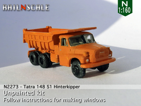 Tatra 148 S1 Hinterkipper (N 1:160) in Smooth Fine Detail Plastic