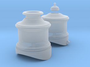 Cooke 2-6-0 Domes 1-48 Scale in Smooth Fine Detail Plastic
