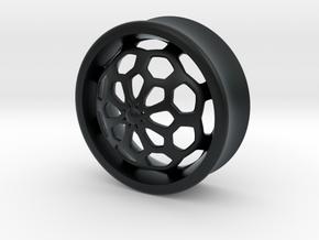 VORTEX1-28mm in Black Hi-Def Acrylate