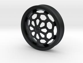 VORTEX1-43mm in Black Hi-Def Acrylate